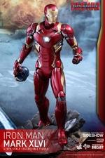 Фигурка Железный человек доспехи костюм номер XLVI Hot Toys Марвел фотография-01.jpg