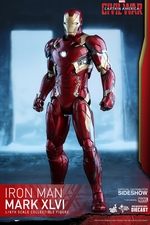 Фигурка Железный человек доспехи костюм номер XLVI Hot Toys Марвел фотография-02.jpg