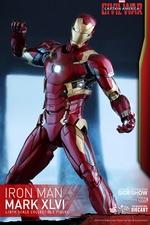 Фигурка Железный человек доспехи костюм номер XLVI Hot Toys Марвел фотография-08.jpg