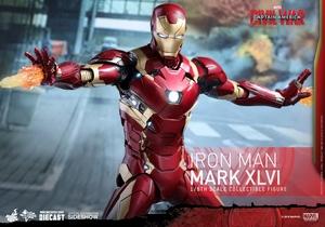 Фигурка Железный человек доспехи костюм номер XLVI Hot Toys Марвел фотография-12.jpg