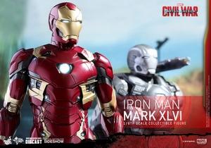 Фигурка Железный человек доспехи костюм номер XLVI Hot Toys Марвел фотография-17.jpg