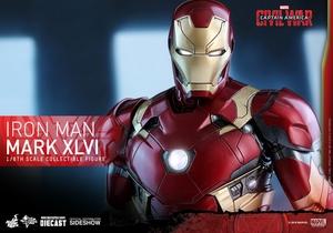 Фигурка Железный человек доспехи костюм номер XLVI Hot Toys Марвел фотография-18.jpg