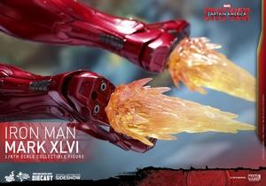 Фигурка Железный человек доспехи костюм номер XLVI Hot Toys Марвел фотография-21.jpg