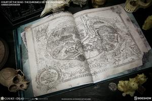 Книга Суд мертвых Хроника преступного мира Sideshow Collectibles суд мертвецов фотография-10.jpg