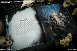 Книга Суд мертвых Хроника преступного мира Sideshow Collectibles суд мертвецов фотография-13.jpg