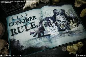 Книга Суд мертвых Хроника преступного мира Sideshow Collectibles суд мертвецов фотография-14.jpg