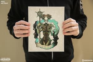 Художественная печать Xiall Sideshow Collectibles суд мертвецов фотография-04.jpg
