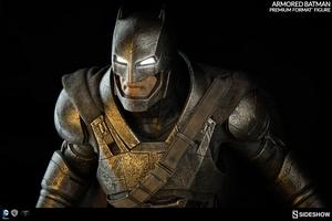 Коллекционная фигурка Бронированный Бэтмен Sideshow Collectibles ДС комикс фотография-10.jpg