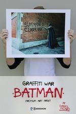 Художественная компьютерная печать Граффити войны Бэтмен Sideshow Collectibles ДС комикс фотография-01.jpg