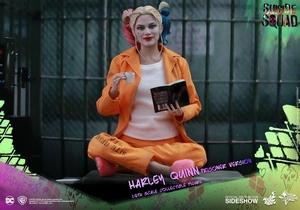 Фигурка Харли Квинн в тюрьме Hot Toys ДС комикс фотография-06.jpg