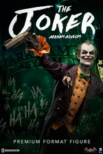 Коллекционная фигурка Joker Arkham Asylum Sideshow Collectibles ДС комикс фотография-01.jpg