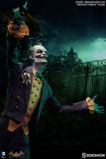 Коллекционная фигурка Joker Arkham Asylum Sideshow Collectibles ДС комикс фотография-02.jpg