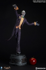 Коллекционная фигурка Joker Arkham Asylum Sideshow Collectibles ДС комикс фотография-03.jpg