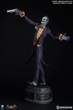 Коллекционная фигурка Joker Arkham Asylum Sideshow Collectibles ДС комикс фотография-06.jpg