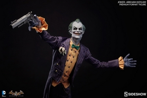 Коллекционная фигурка Joker Arkham Asylum Sideshow Collectibles ДС комикс фотография-07.jpg