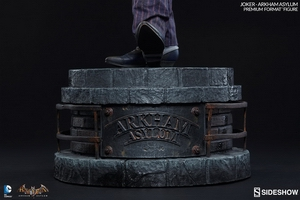 Коллекционная фигурка Joker Arkham Asylum Sideshow Collectibles ДС комикс фотография-10.jpg