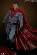 Коллекционная фигурка Супермен - Красный сын Sideshow Collectibles ДС комикс фотография-03.jpg