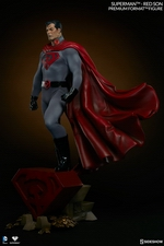 Коллекционная фигурка Супермен - Красный сын Sideshow Collectibles ДС комикс фотография-05.jpg