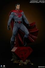 Коллекционная фигурка Супермен - Красный сын Sideshow Collectibles ДС комикс фотография-07.jpg