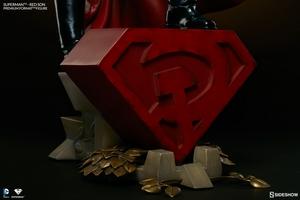 Коллекционная фигурка Супермен - Красный сын Sideshow Collectibles ДС комикс фотография-10.jpg