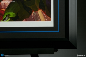 Художественная компьютерная печать Супермен против Лекса Лютора Sideshow Collectibles ДС комикс фотография-05.jpg