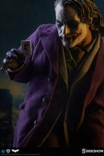 Коллекционная фигурка Джокер Темный рыцарь Sideshow Collectibles ДС комикс фотография-02.jpg