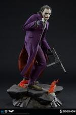 Коллекционная фигурка Джокер Темный рыцарь Sideshow Collectibles ДС комикс фотография-04.jpg