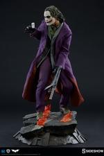 Коллекционная фигурка Джокер Темный рыцарь Sideshow Collectibles ДС комикс фотография-06.jpg