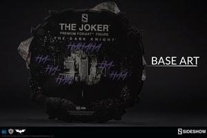 Коллекционная фигурка Джокер Темный рыцарь Sideshow Collectibles ДС комикс фотография-12.jpg
