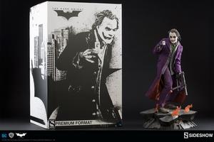 Коллекционная фигурка Джокер Темный рыцарь Sideshow Collectibles ДС комикс фотография-13.jpg