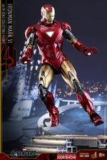 Фигурка Железный человек доспехи номер VI Hot Toys Марвел фотография-03.jpg