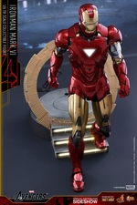 Фигурка Железный человек доспехи номер VI Hot Toys Марвел фотография-04.jpg
