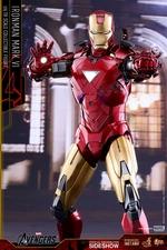 Фигурка Железный человек доспехи номер VI Hot Toys Марвел фотография-08.jpg
