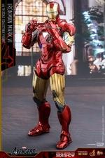 Фигурка Железный человек доспехи номер VI Hot Toys Марвел фотография-12.jpg