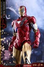 Фигурка Железный человек доспехи номер VI Hot Toys Марвел фотография-14.jpg