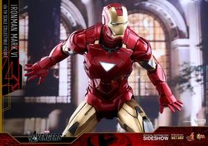 Фигурка Железный человек доспехи номер VI Hot Toys Марвел фотография-17.jpg