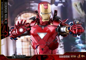 Фигурка Железный человек доспехи номер VI Hot Toys Марвел фотография-18.jpg