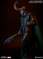 Коллекционная фигурка Локи Sideshow Collectibles Марвел фотография-02.jpg