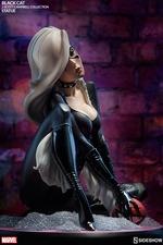 Статуэтка из искусственного камня Черная кошка Sideshow Collectibles Марвел фотография-09.jpg