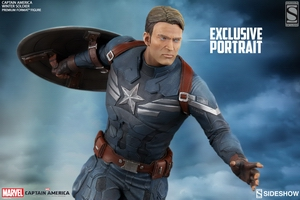 Коллекционная фигурка Капитан Америка Sideshow Collectibles Марвел фотография-01.jpg