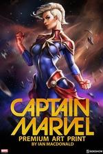 Художественная компьютерная печать Капитан Марвел Sideshow Collectibles Марвел фотография-01.jpg
