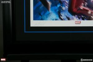 Художественная компьютерная печать Капитан Марвел Sideshow Collectibles Марвел фотография-05.jpg