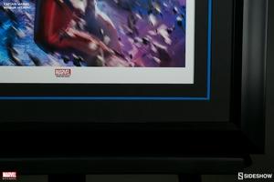 Художественная компьютерная печать Капитан Марвел Sideshow Collectibles Марвел фотография-06.jpg