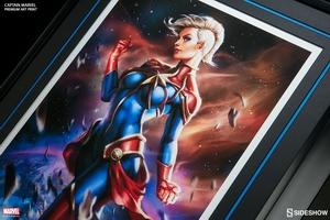Художественная компьютерная печать Капитан Марвел Sideshow Collectibles Марвел фотография-07.jpg