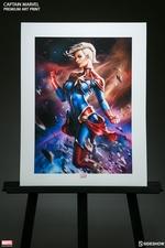 Художественная компьютерная печать Капитан Марвел Sideshow Collectibles Марвел фотография-08.jpg