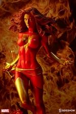 Коллекционная фигурка Темный Феникс Sideshow Collectibles Марвел фотография-02.jpg