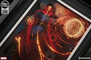 Художественная компьютерная печать Доктор Странный Sideshow Collectibles Марвел фотография-03.jpg