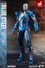 Фигурка Железный человек доспехи номер XXX вороненая сталь Hot Toys Марвел фотография-01.jpg