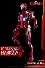 Фигурка Железный человек Марк XLVI Hot Toys Марвел фотография-01.jpg