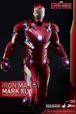Фигурка Железный человек Марк XLVI Hot Toys Марвел фотография-02.jpg